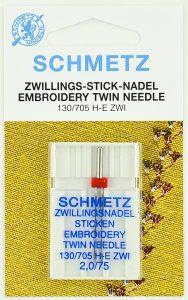 Schmetz 130_705 H-E ZWI 2.0-75