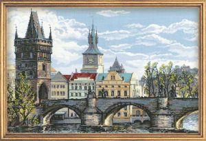 1058-Praga.-Karlov-most