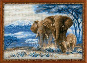 1144-Sloni-v-savanne
