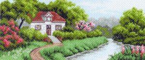 Матренин Посад - Канва с нанесенным рисунком 24x47