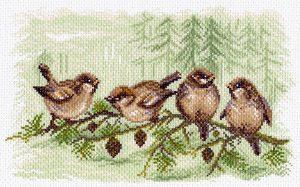Матренин Посад - Канва с нанесенным рисунком 28x37
