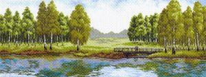 Матренин Посад - Канва с нанесенным рисунком 40x90