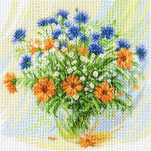 Матренин Посад - Канва с нанесенным рисунком 41x41