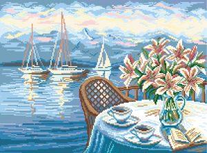 Матренин Посад - Канва с нанесенным рисунком 37x49