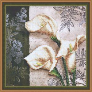 Овен - Вышивка бисером на ткани