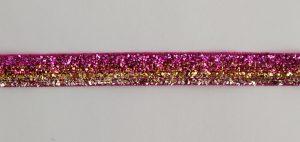 Тесьма бархатная с метанитью Люкс 10 мм