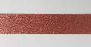 Лента атласная с люрексом, ширина 25 мм.