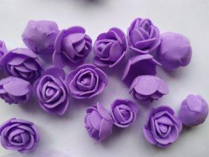 Цветы из фоамирана 25 мм