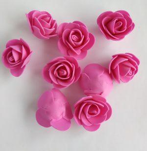 Цветы из фоамирана 35 мм
