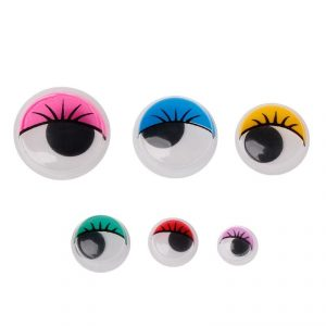 Глаза клеевые