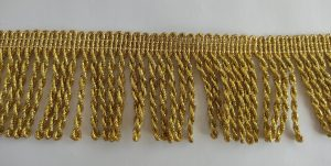 Бахрома золото и серебро, ширина 4,5 см.