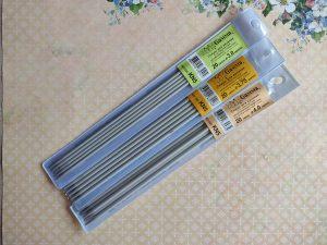 Спицы GAMMA чулочные алюминиевые с покрытием, 20 см. (KN5)