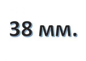Лента атласная ширина 38 мм